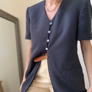 Vintage Jackets & Coats - Vintage Textured Blazer Dress